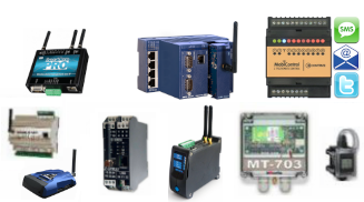Remote Monitoring, RTU, Dataloggers & Alarming devices